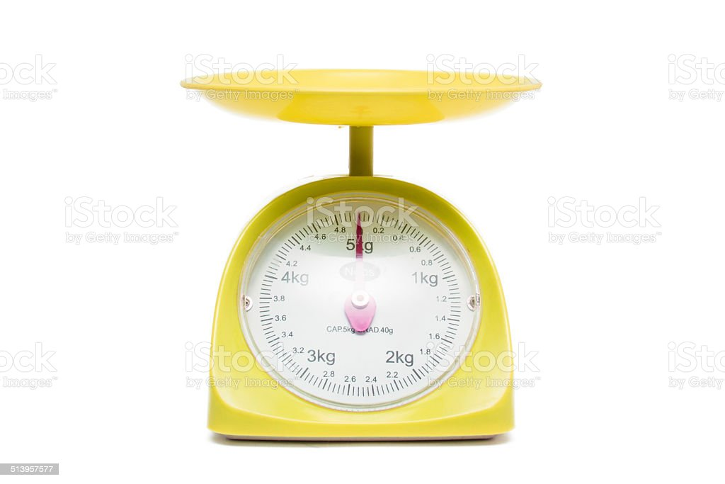 weight gage scale stock photo