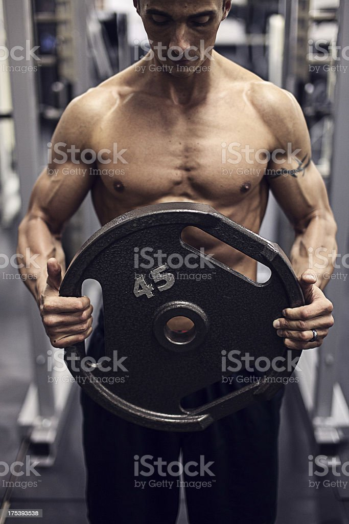 weight lifter stock photo 175393538 | istock, Muscles