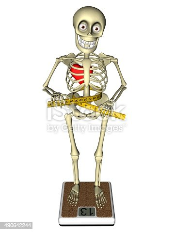 weight loss bulimia anorexia human body skeleton stock photo, Skeleton