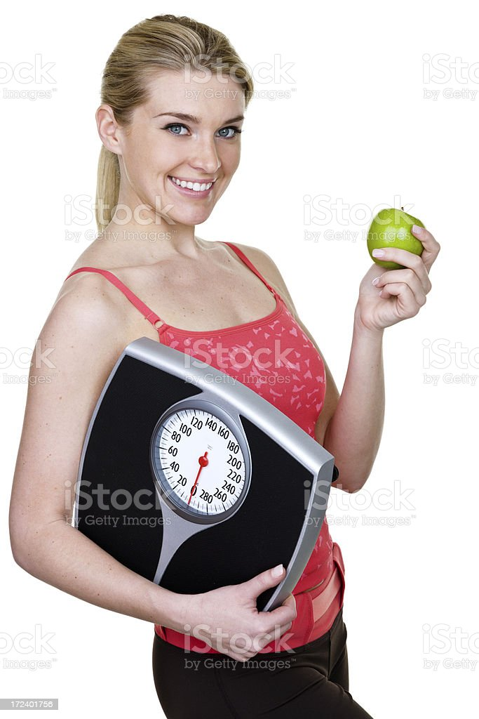 Weight loss concept royalty-free stock photo