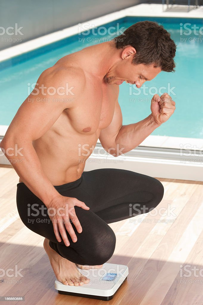 Weight loss concept. royalty-free stock photo