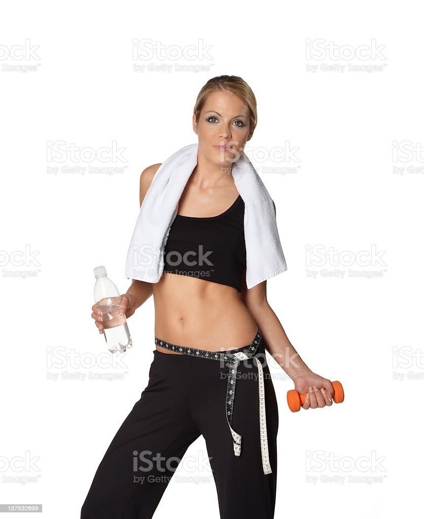 Weight loss, fitness concept royalty-free stock photo