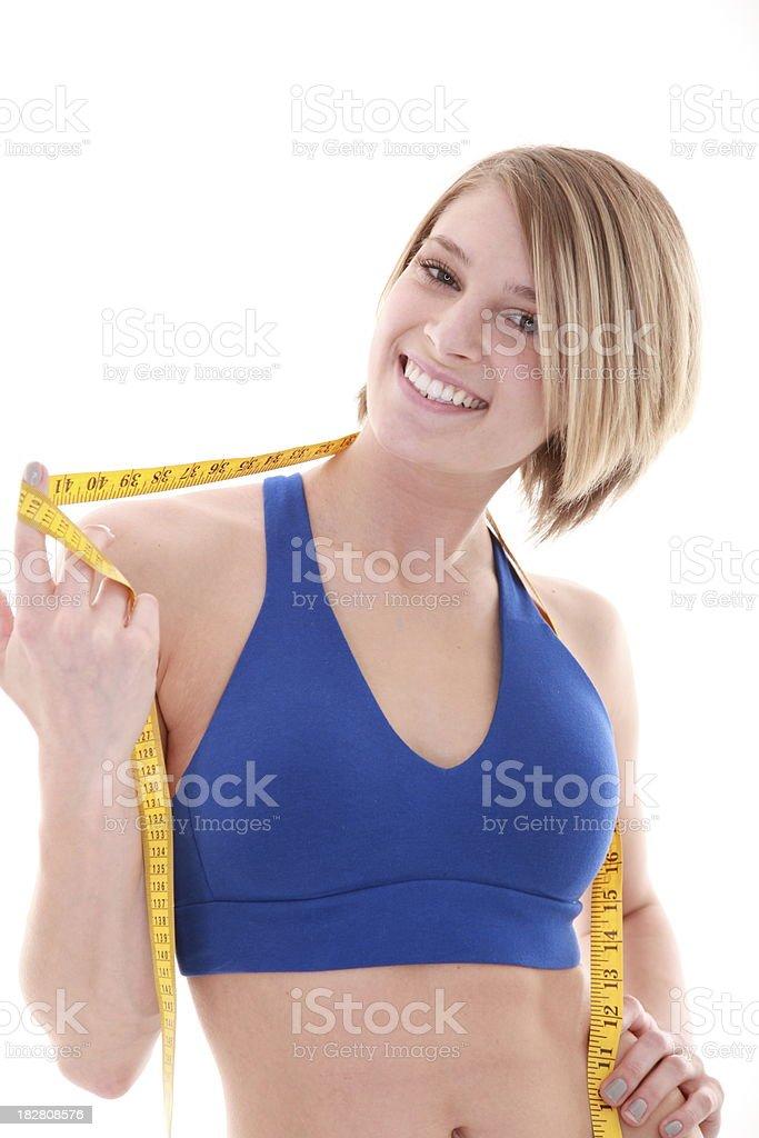 Pérdida de peso objetivo foto de stock libre de derechos