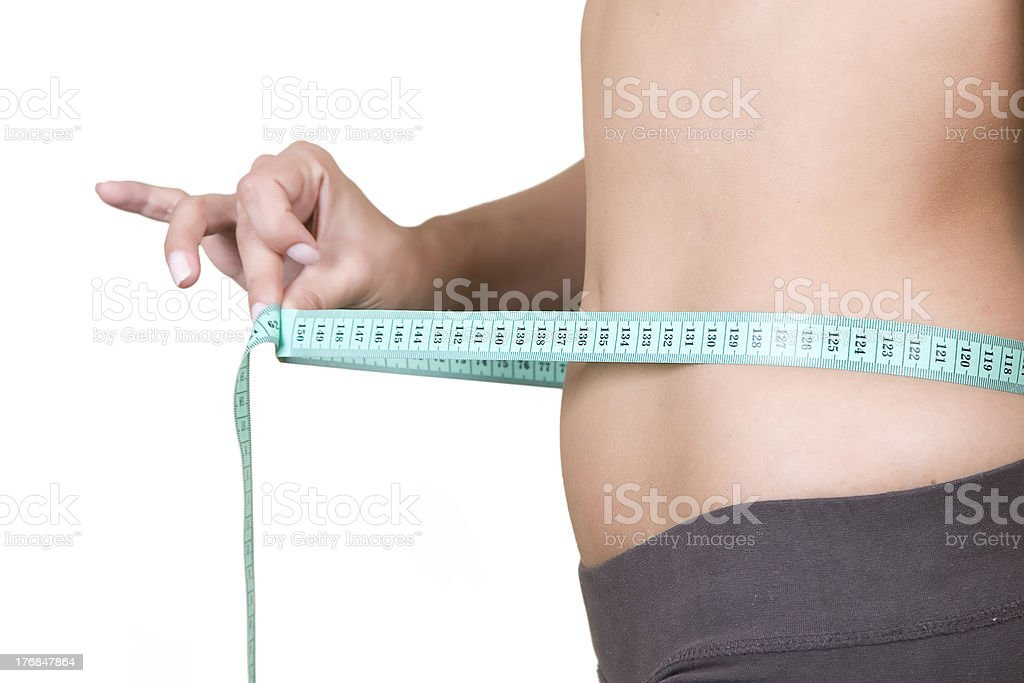 Weight loss, healthy lifestyle concept royalty-free stock photo