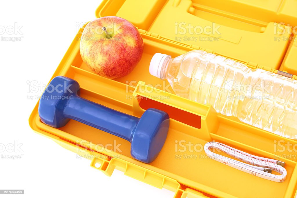 Weight Loss Tools stock photo