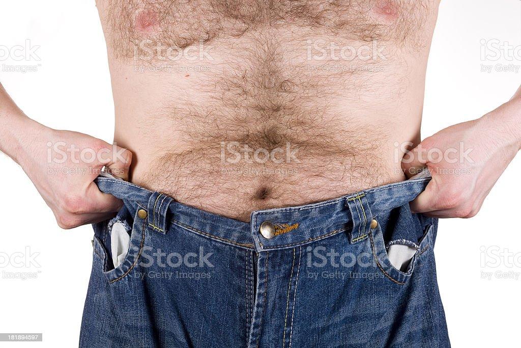 Weight Loss XXXL stock photo