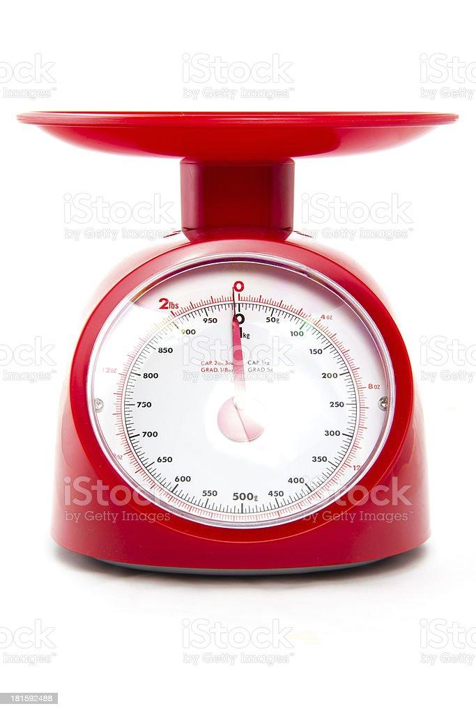 Weight measurement balance royalty-free stock photo