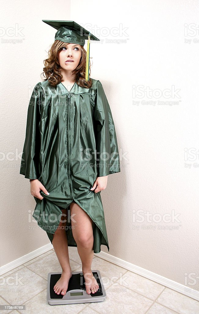 Weight of the Future is unsure royalty-free stock photo