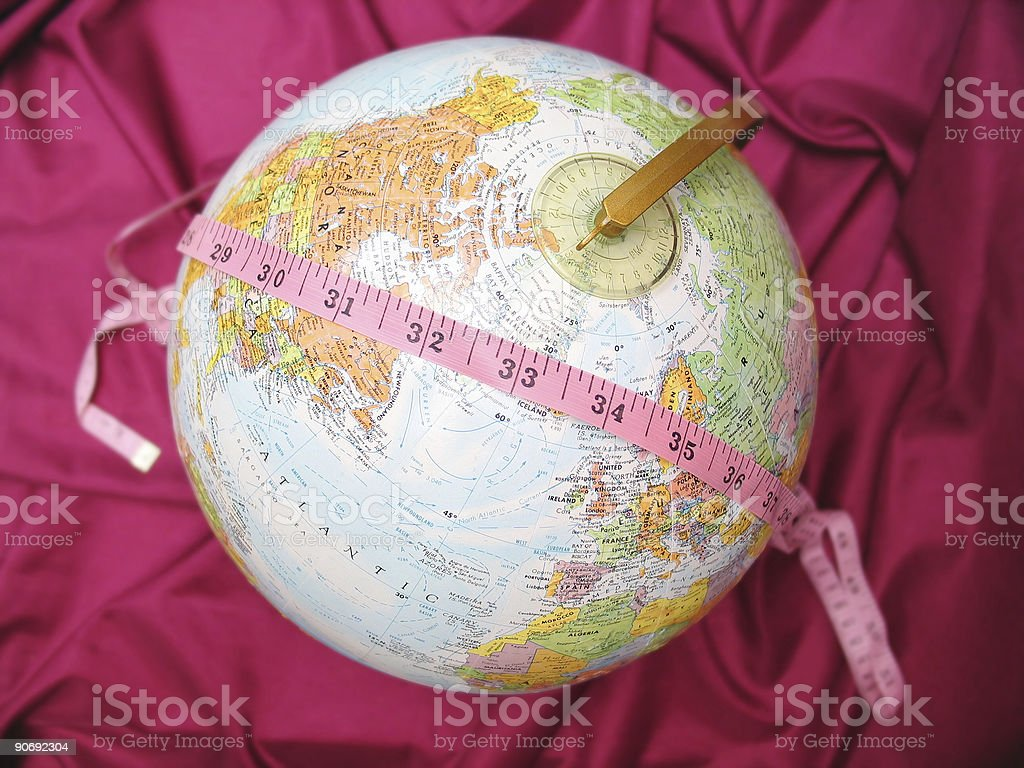 Weight of the World 2 royalty-free stock photo