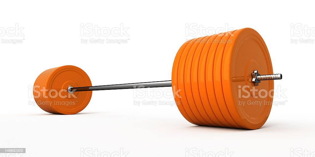 Weight. royalty-free stock photo
