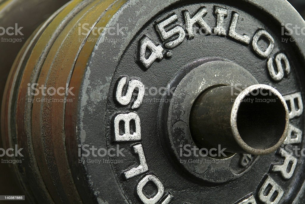 Weight Plate royalty-free stock photo
