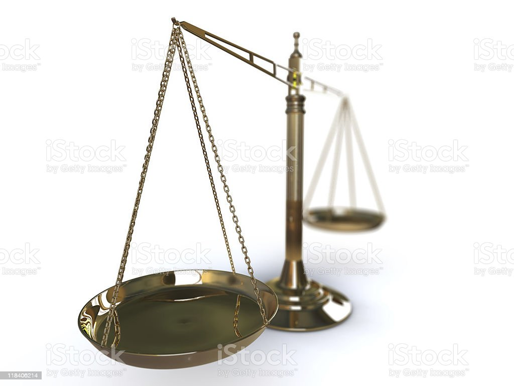 Weight Scale (Selective Focus) royalty-free stock photo