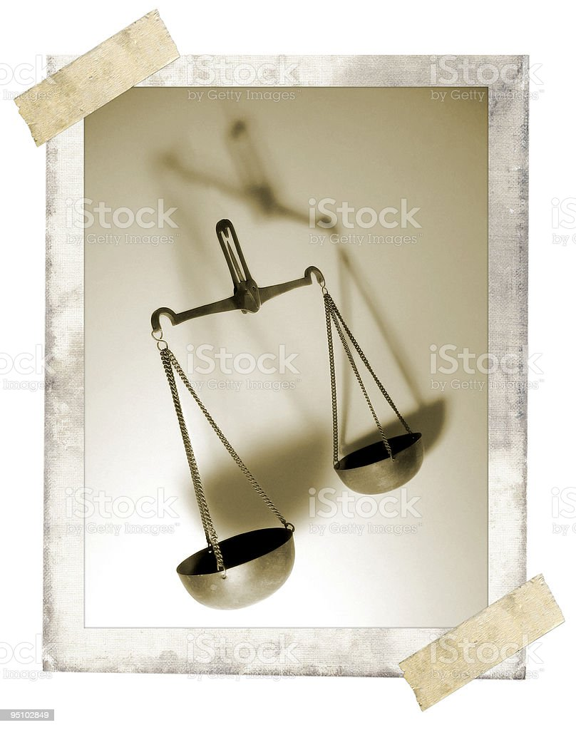 Weight Scale royalty-free stock photo