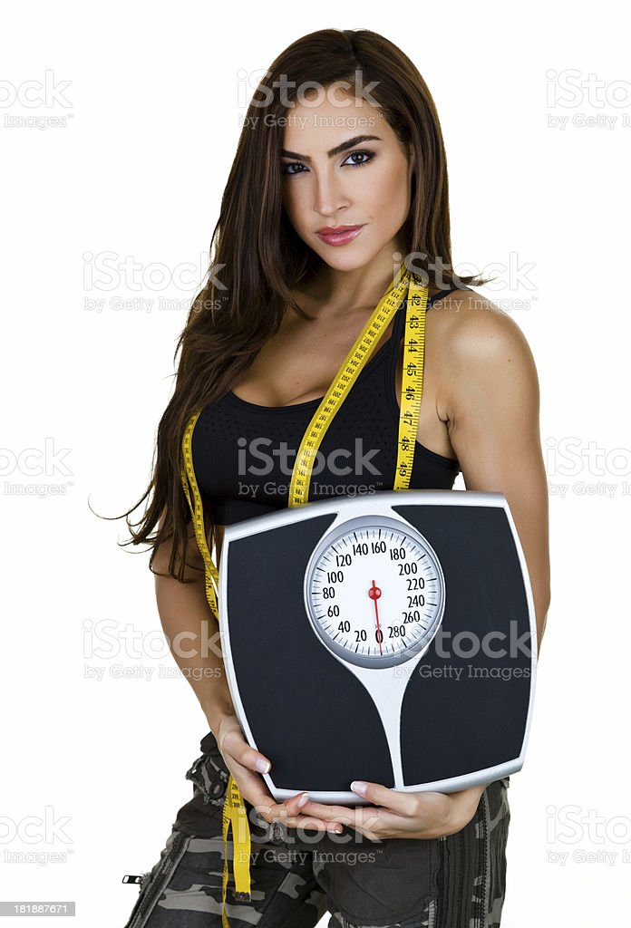 Weightloss concept royalty-free stock photo