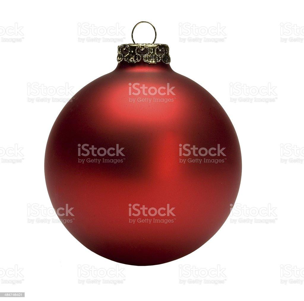 Weihnachtsbaumkugel stock photo