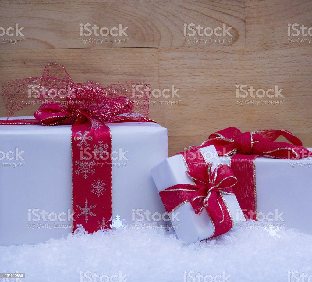 Weihnachtsgeschenke stock photo