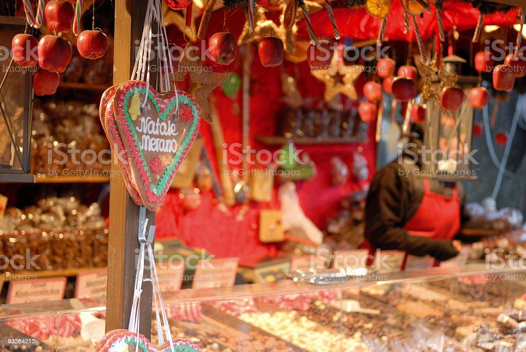 weihnachtsmarkt royalty-free stock photo