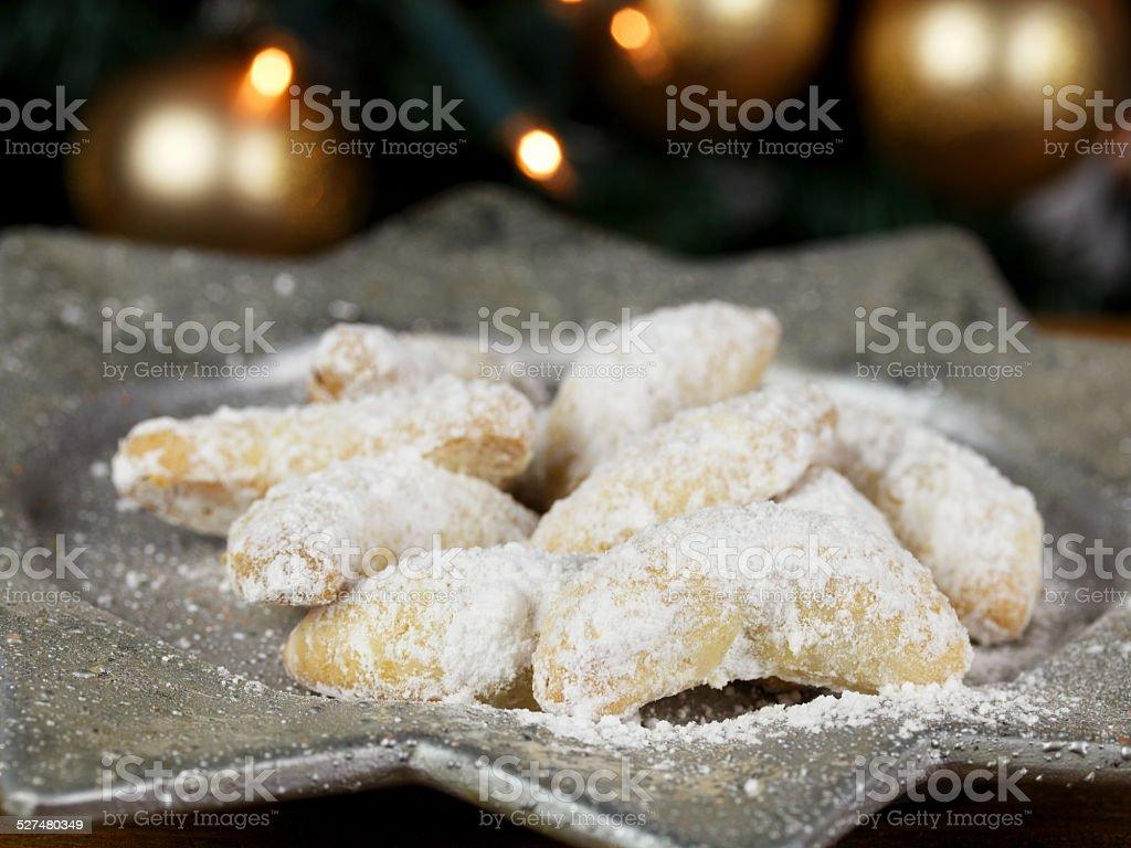 Weihnachtsteller stock photo