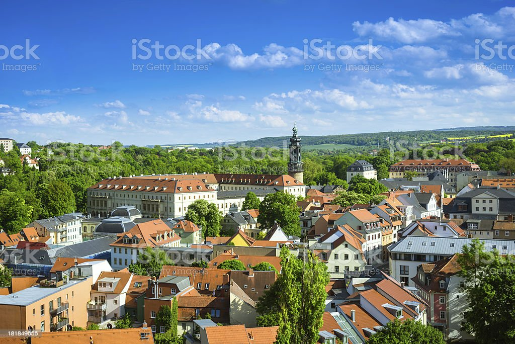Weimar, Germany stock photo
