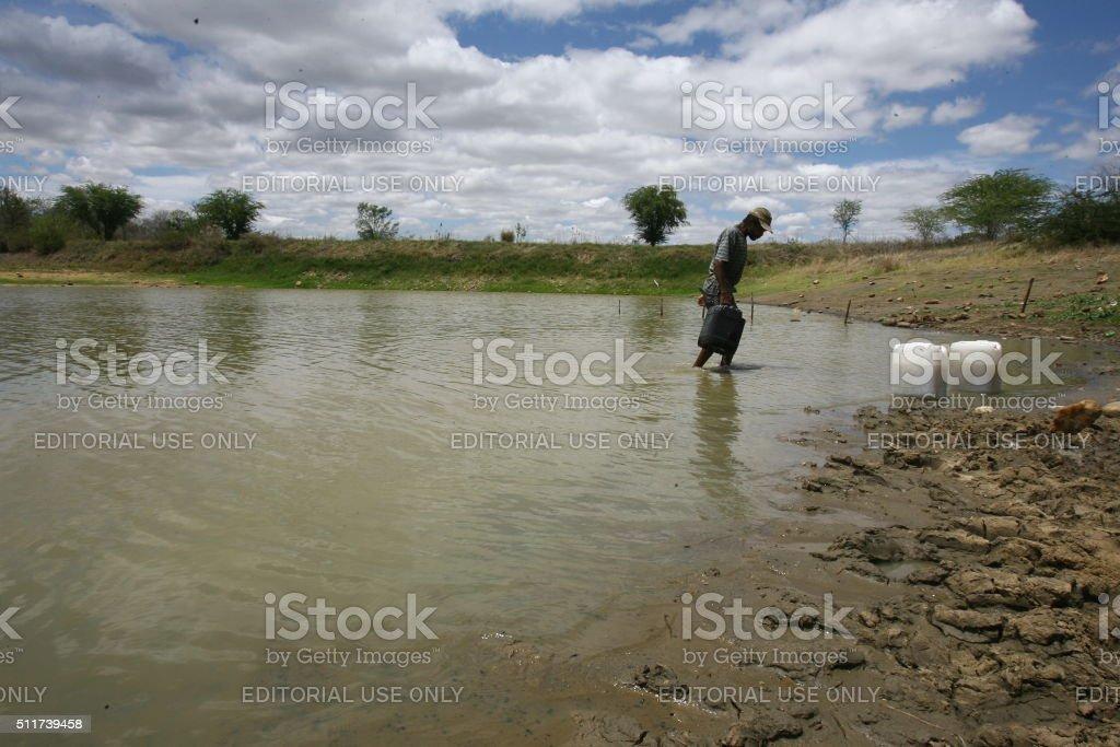 Weir / DRY stock photo