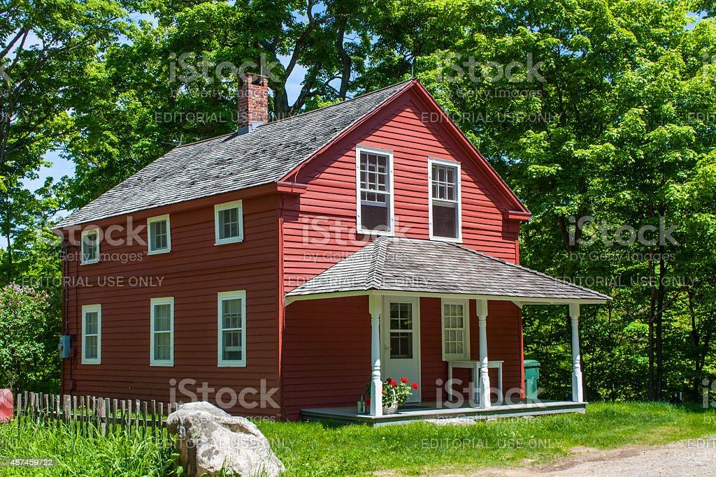 Weir Farm National Historic Site stock photo
