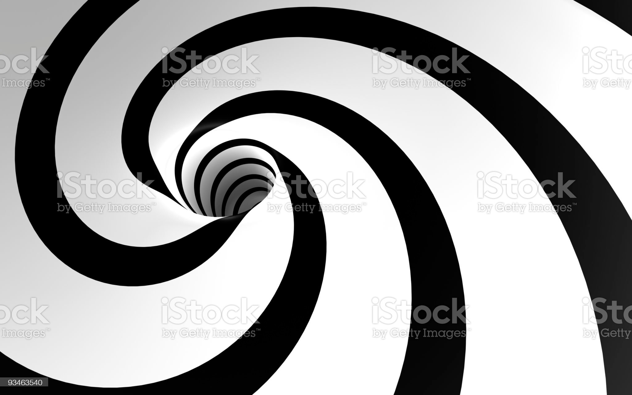 Weird Spiral royalty-free stock photo