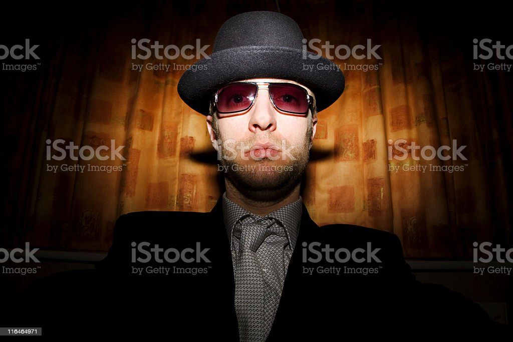 Weirdo Gangster stock photo