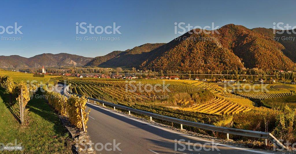 Weissenkirchen Wachau stock photo