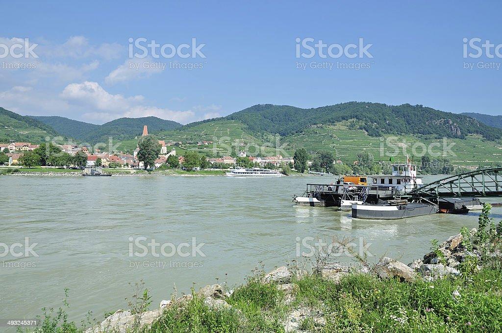 Weissenkirchen,Wachau Valley,Austria stock photo