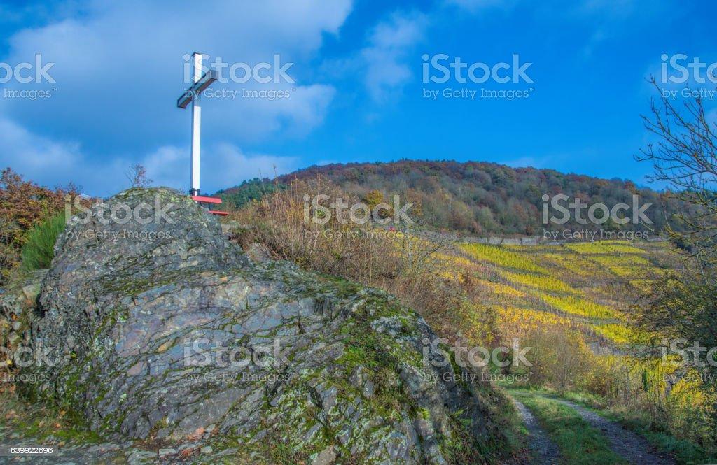 Weisses Kreuz Altenahr stock photo