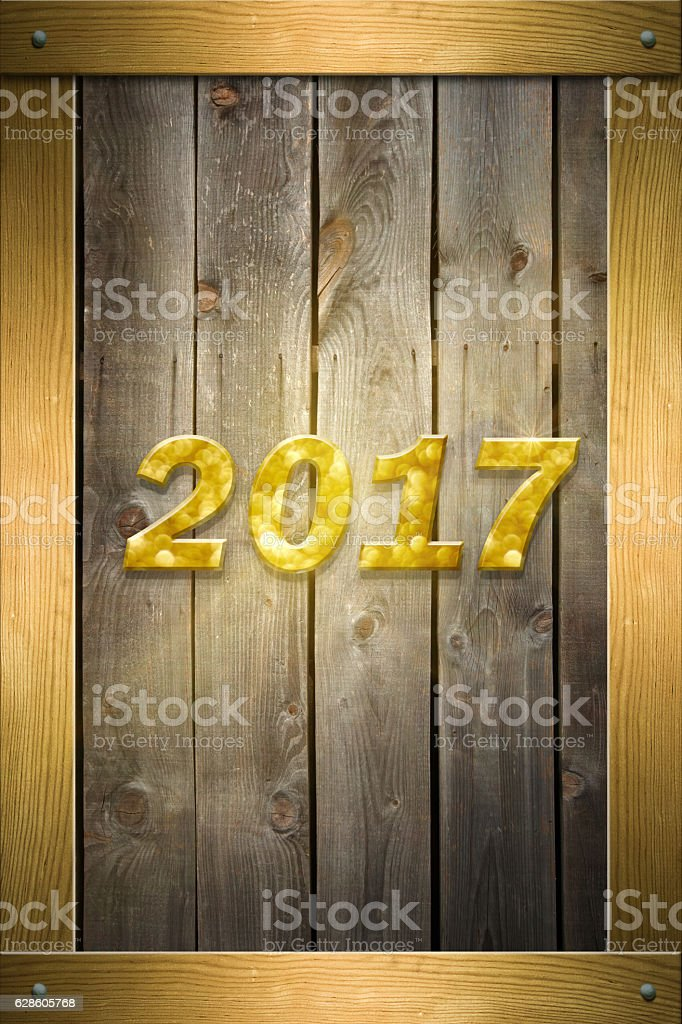Welcome 2017 - Happy New Year stock photo