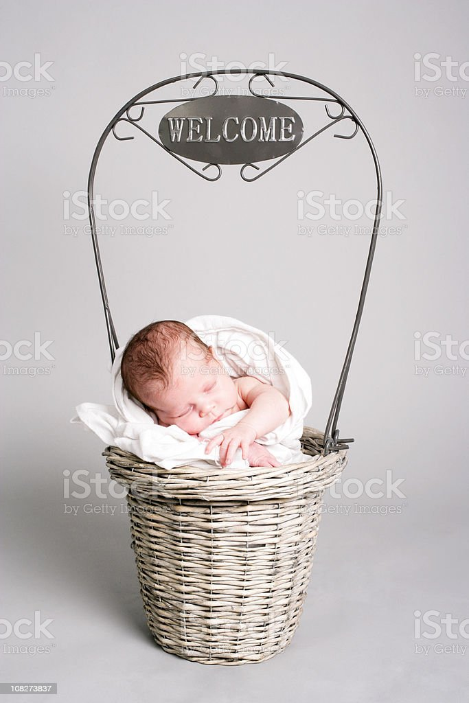Welcome baby royalty-free stock photo