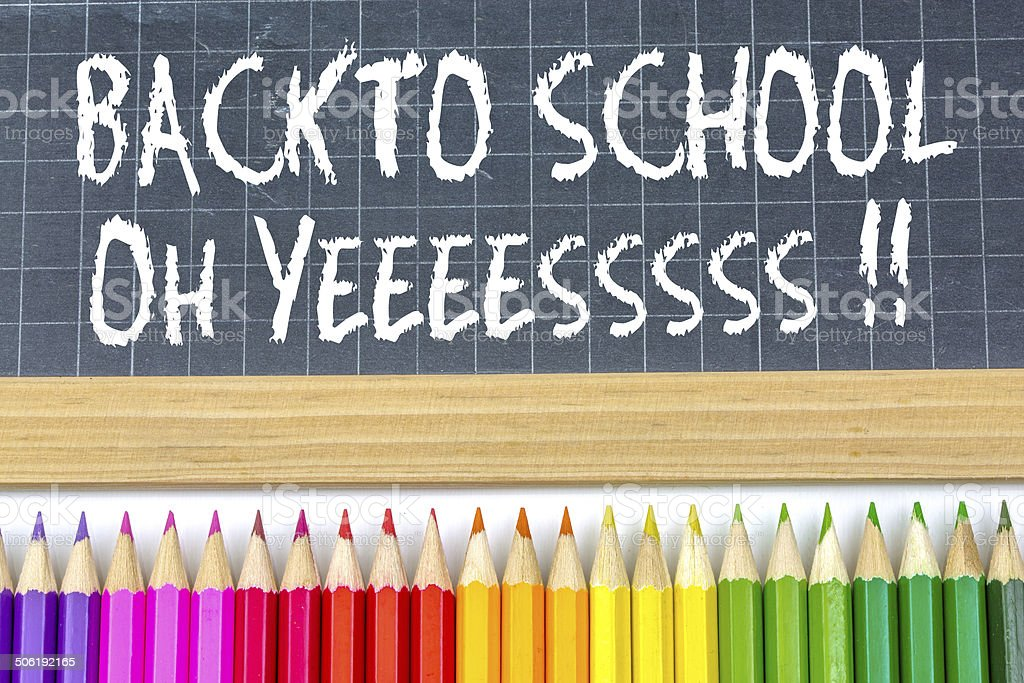 Welcome back to school royalty-free stock photo