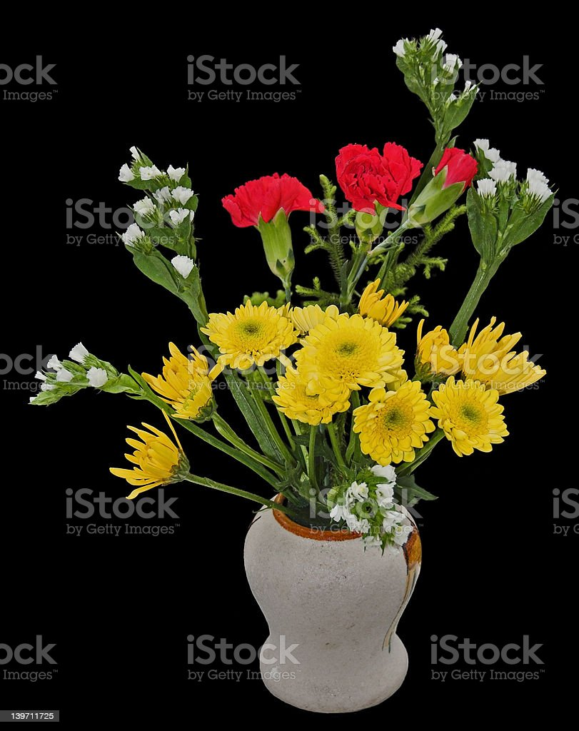Welcome bouquet stock photo
