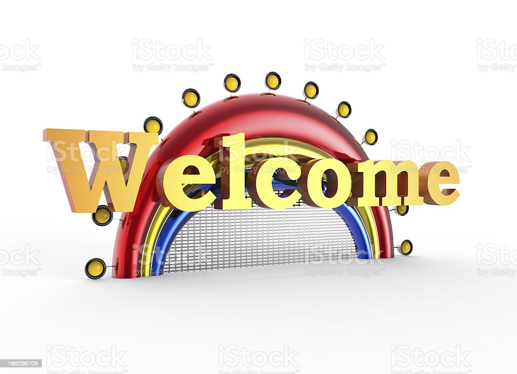 Welcome concept royalty-free stock photo