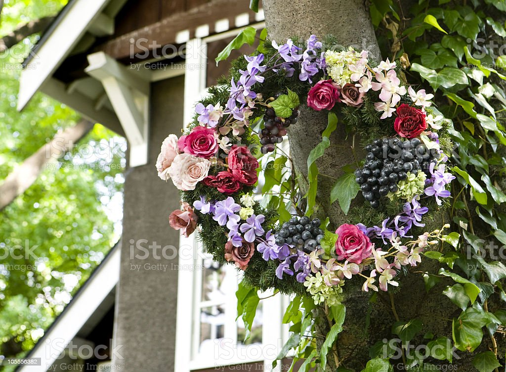 Welcome flowers royalty-free stock photo