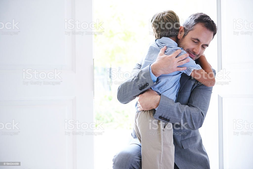 Welcome home! stock photo