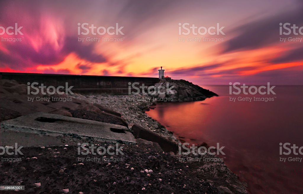 Welcome light .. stock photo
