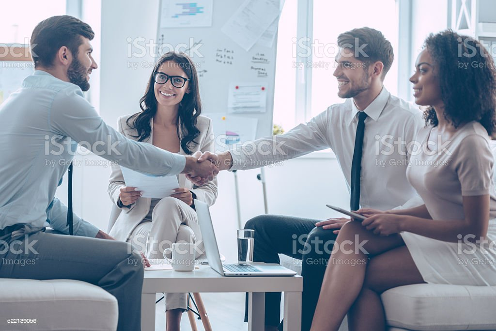 Welcome on board! stock photo