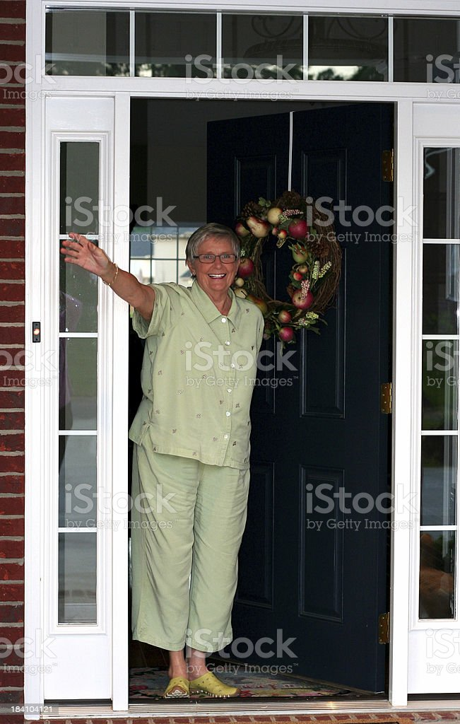 welcome! royalty-free stock photo