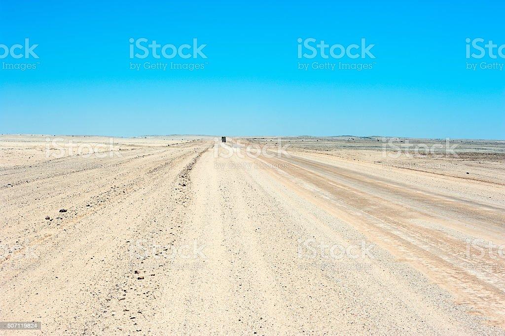 Welcome sight, Namib Desert, Namibia, Africa stock photo