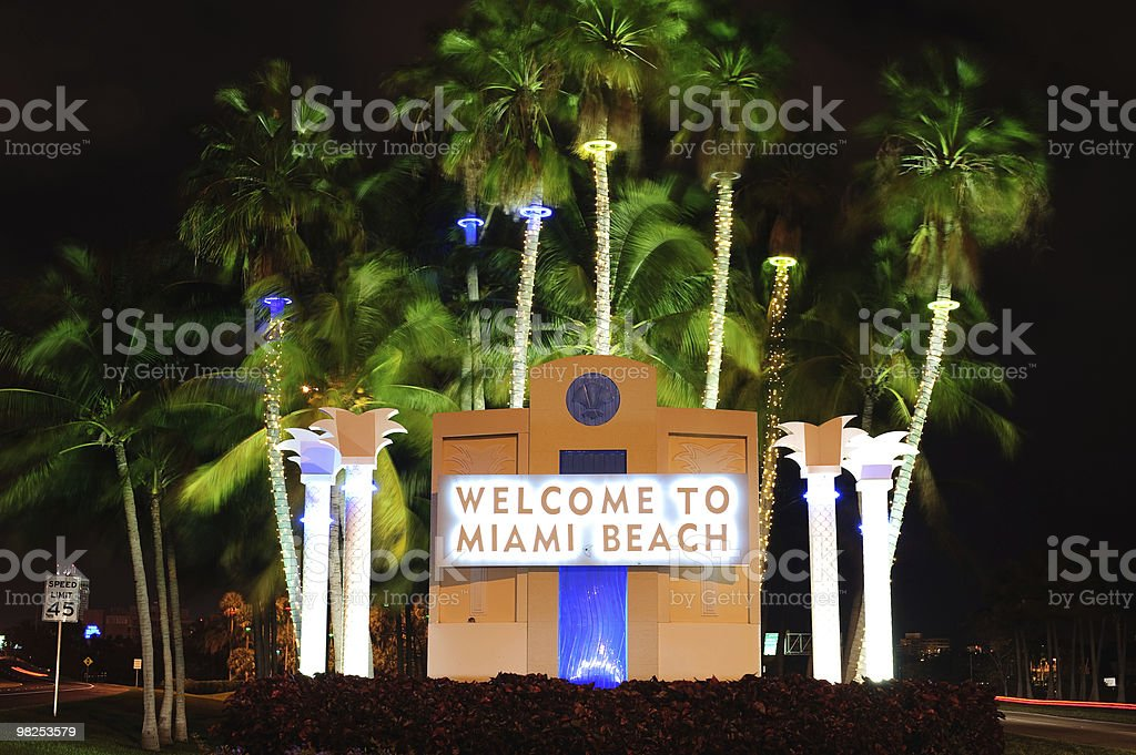 welcome signboard royalty-free stock photo