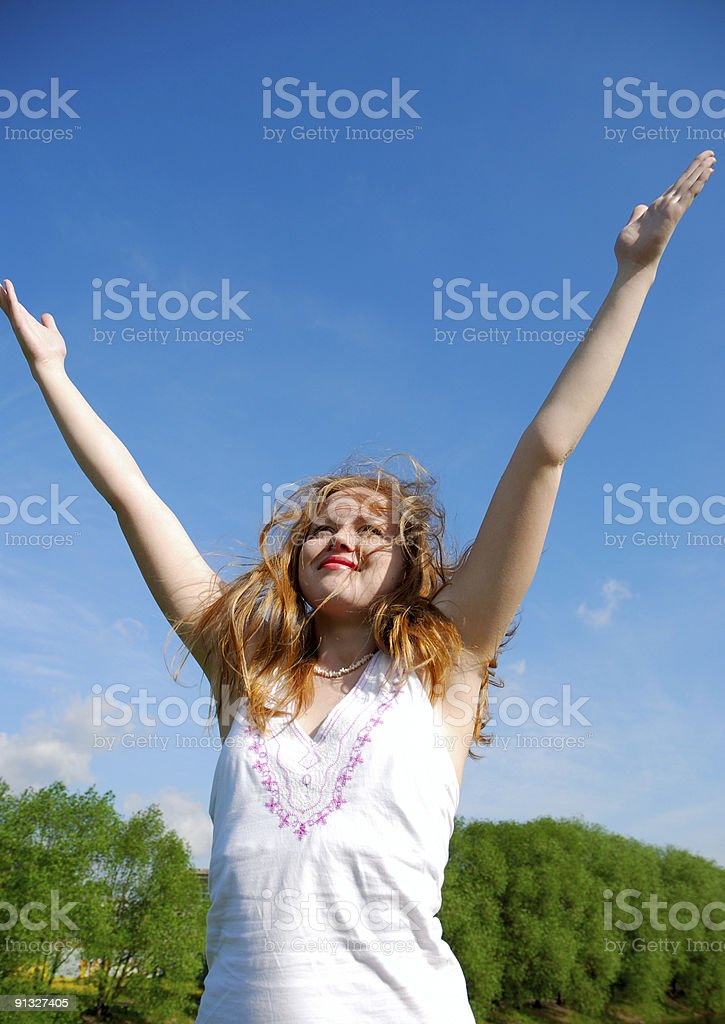 Welcome summer! royalty-free stock photo