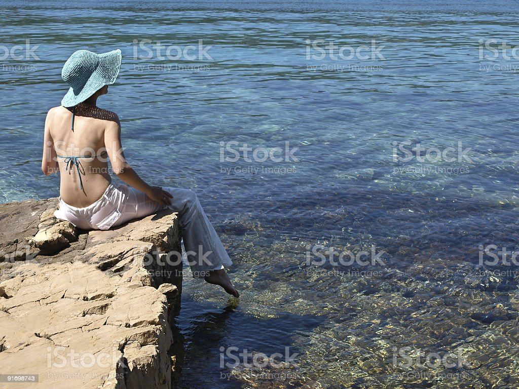 welcome summer royalty-free stock photo