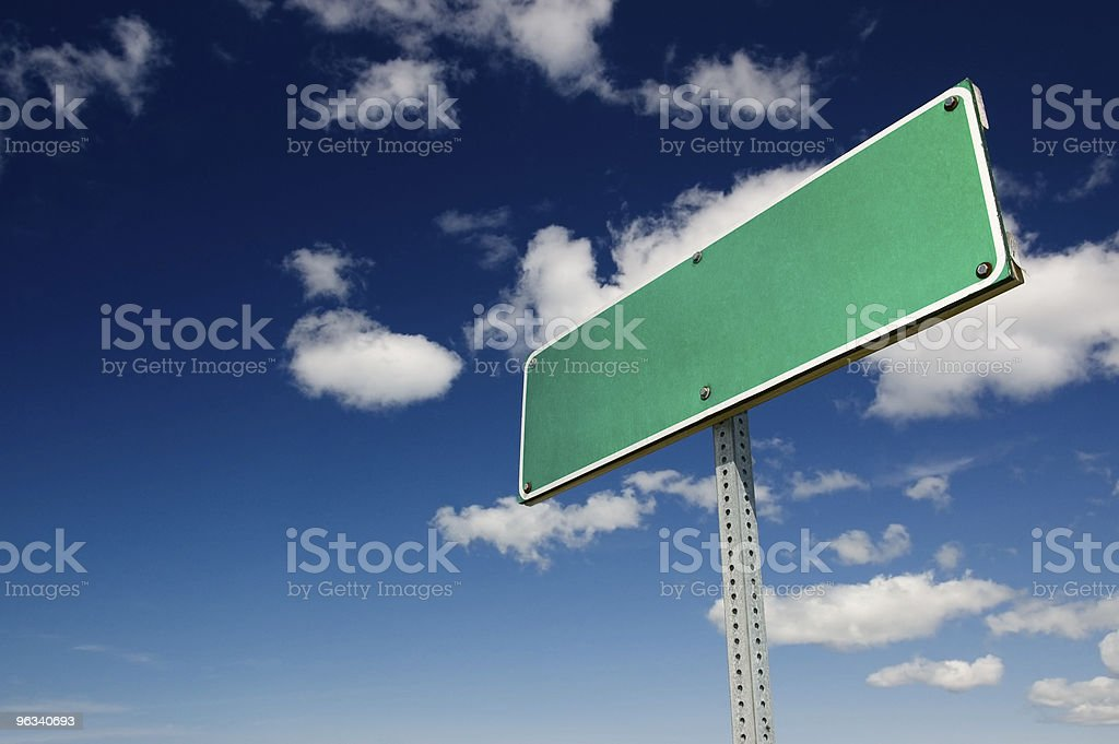 Welcome to Blankville royalty-free stock photo