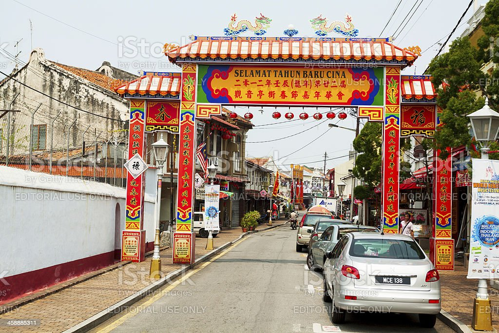 Welcome to Chinatown royalty-free stock photo