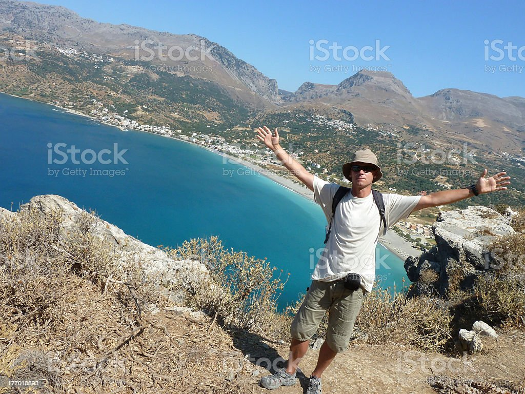 Welcome to Crete stock photo