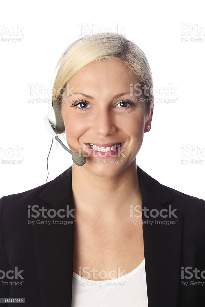 Welcome to customer service! royalty-free stock photo