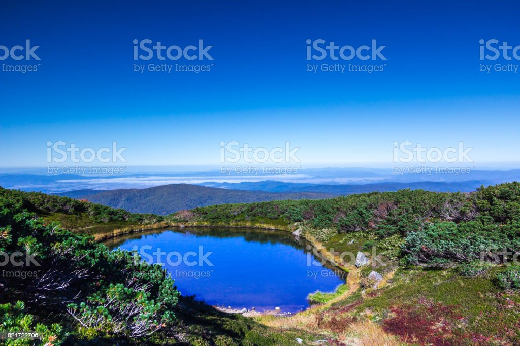 Welcome to Daisetsuzan National Park stock photo