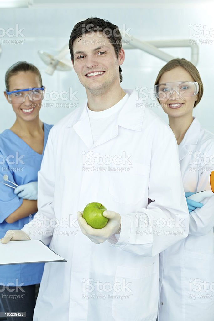 Welcome to dentists office royalty-free stock photo